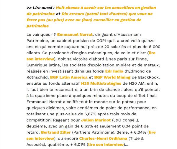 article de presse dans Capital Emmanuel Narrat vainqueur du championnat des CGPI></a> <br><a href=
