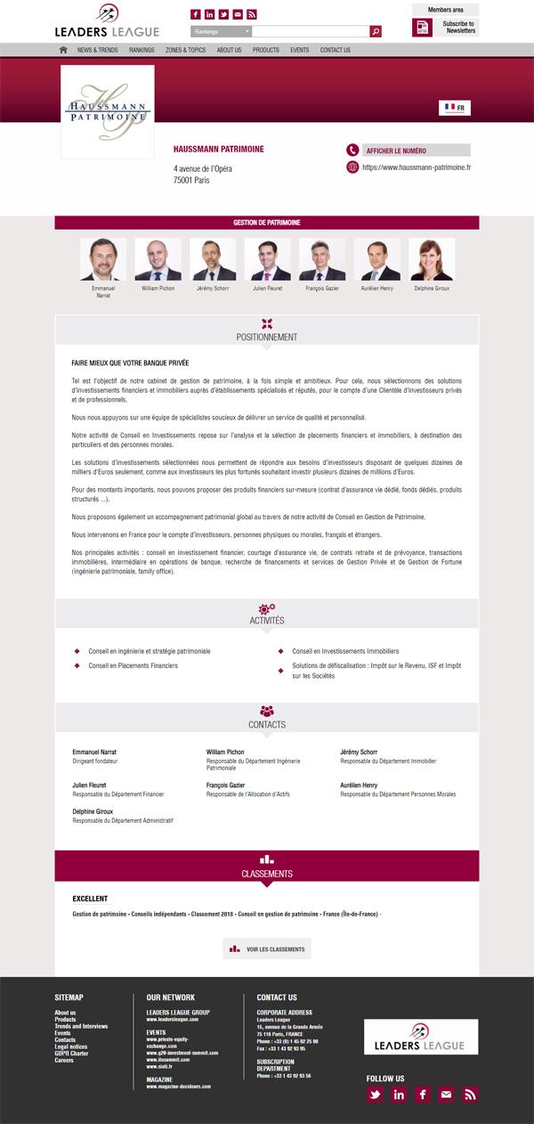 classement decideurs cgp 2019 haussmann patrimoine classement excellent