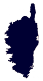 carte de la Corse
